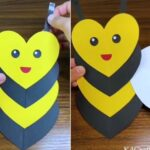Make-Heart-Shaped-Bee-Craft-for-Kids-7